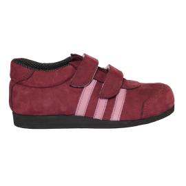 Supinált tépőzáras lány bőr cipő
