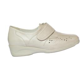 Női tépőzáras bőr cipő Bea