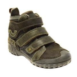 D.d. step fiú magasszárú bőrcipő FOL 11005-64b