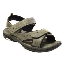 Férfi gördülő talpas bőr cipő Helgo  6e0408c197