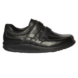 Férfi gördülőtalpas bőr cipő Helgo 482300174001