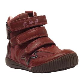 D.d. step lány tépőzáras bőr cipő 036-6B