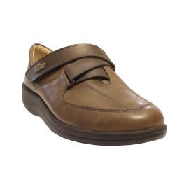 Női gördülőtalpas bőr cipő 80.221-544