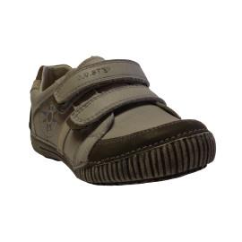 D.d. Step fiú bőr cipő 036-13