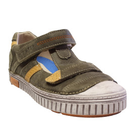 D.D. Step fiú bőr cipő 033-37A