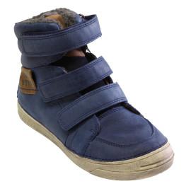 Fiú bélelt magasszárú cipő 040-21L