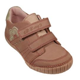 d.d. step lány bőr cipő  036-702A