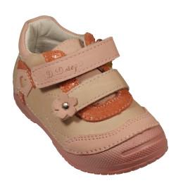 d.d step lány bőr cipő    038-240A