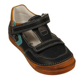 d.d step fiú bőr cipő 040-412AM