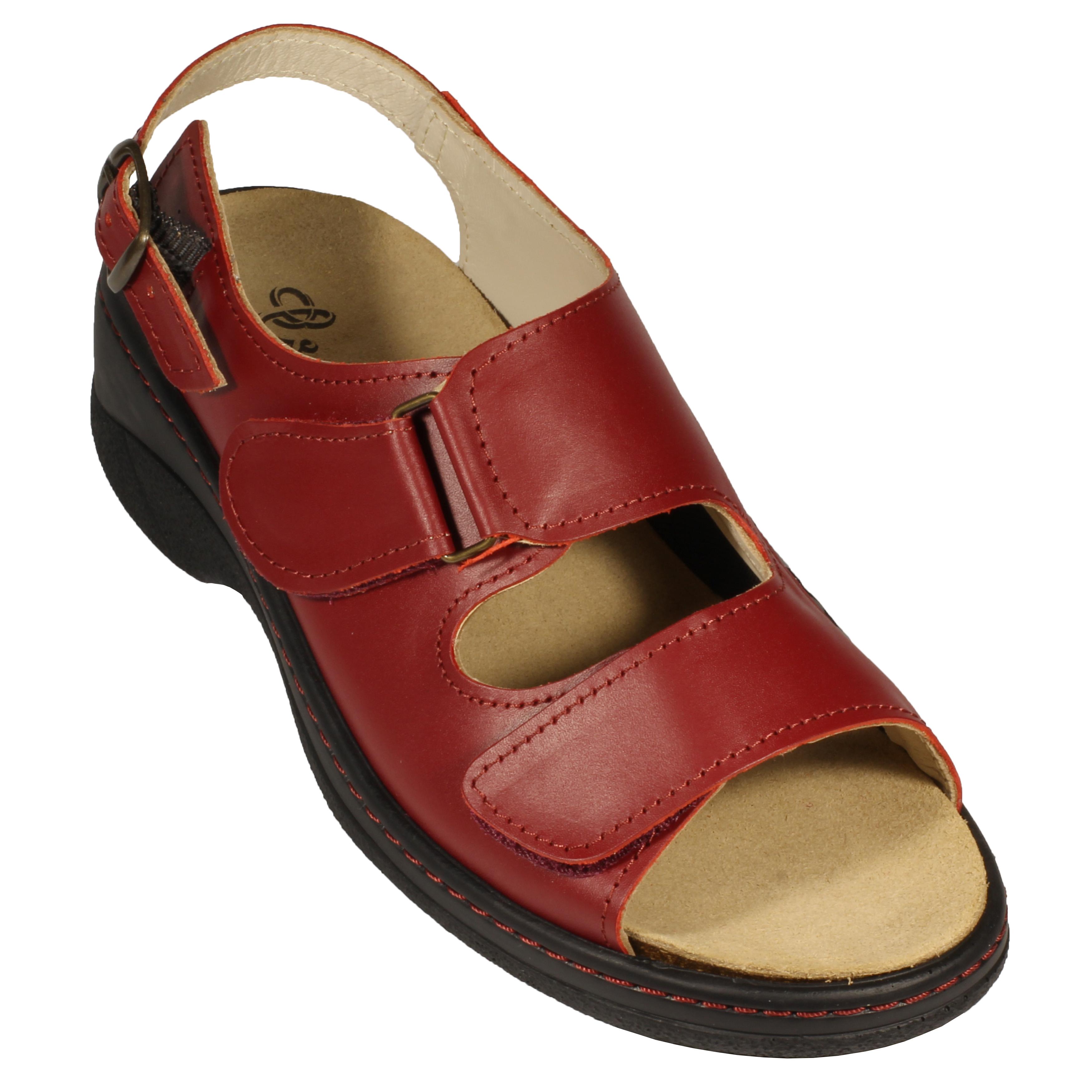 NŐI KÉNYELMI SZANDÁL 320 G BORDÓ | Jager Shoes